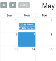 Add any conversation to your team calendar