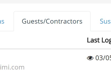 Allow customers/contractors to access channels as guests