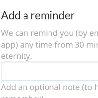 Add a private reminder to any message