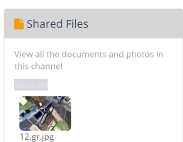 Quick access to all documents sent or shared